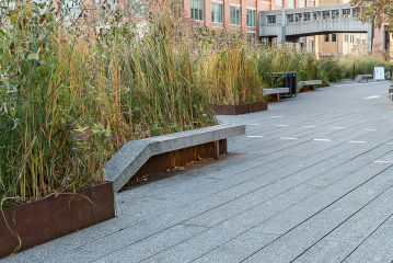 Urban Spaces & Parks, Waterfronts and Rooftops Metal Fabricators
